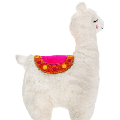Plush Llama Shaped Cushion