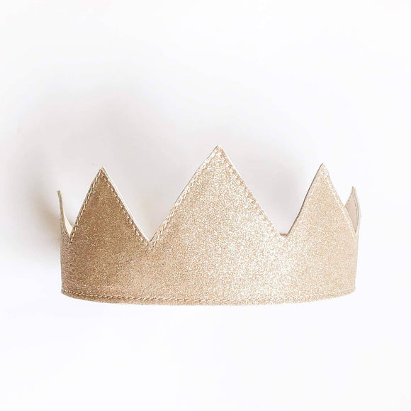 Double sided reversible headband crown