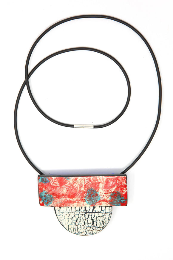 Fire Element Contemporary Design Necklace