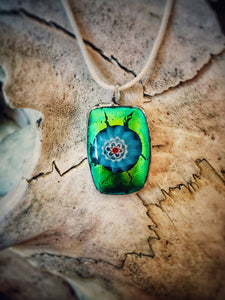 Glass Pendant - The Biscuit Marketplace