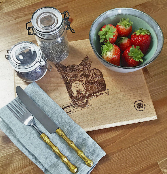 Beechwood Serving Platter/Chopping Board - The Biscuit Marketplace