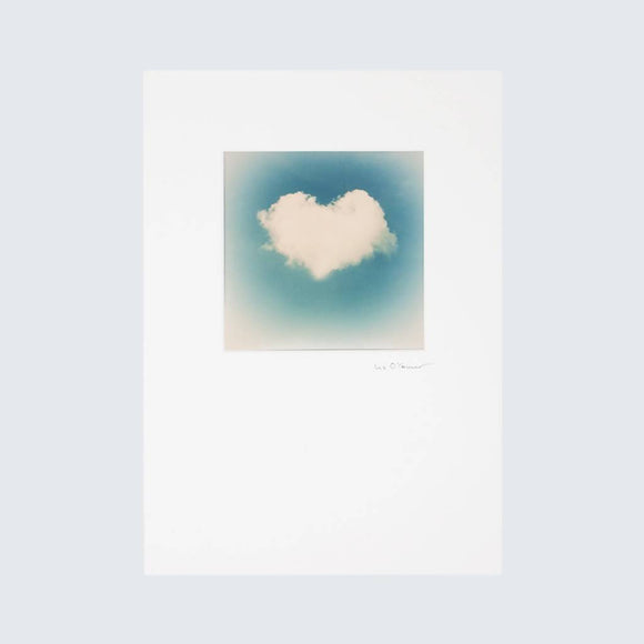 Retro Heart Cloud Print