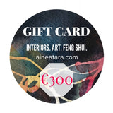 GIFT CARD - FENG SHUI. INTERIORS. ART. - The Biscuit Marketplace