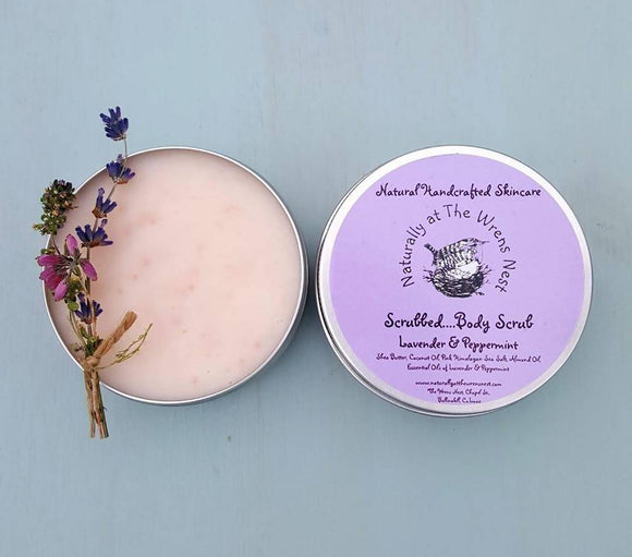 Naturally Scrubbed....Lavender & Peppermint Body Scrub - The Biscuit Marketplace