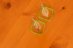 Rhombus Collection - Paper Quilled Earrings - The Biscuit Marketplace