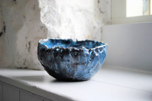 Whirlwind- encaustic vessel - The Biscuit Marketplace