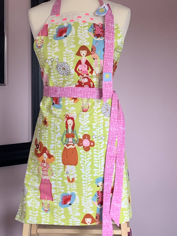 CherryBlossoms Apron - The Biscuit Marketplace