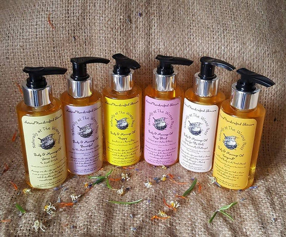 Calendula Body & Massage OIl - The Biscuit Marketplace