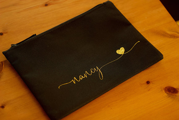 Personalised Make Up Bag - The Biscuit Marketplace