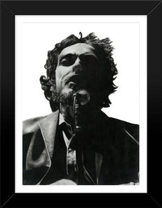 Bob Dylan Charcoal Drawing - Illustration Print - The Biscuit Marketplace