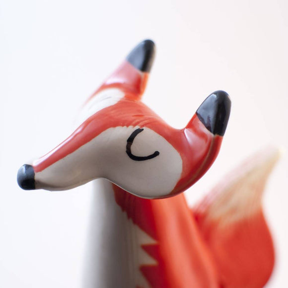 Ceramic fox - The Biscuit Marketplace