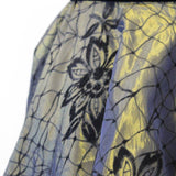 1950s Flocked Taffeta Full Skirt - The Biscuit Marketplace