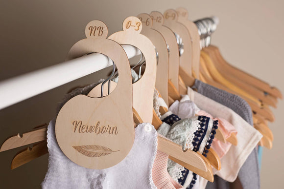 WARDROBE DIVIDERS - Baby's First - The Biscuit Marketplace