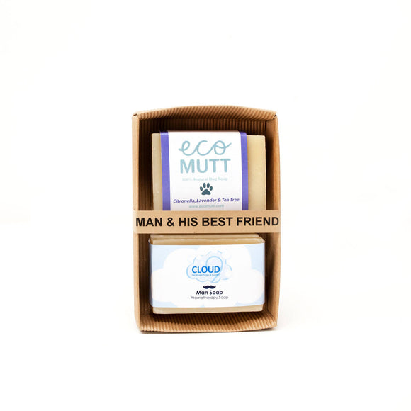 Man & His Best Friend Gift Pack - The Biscuit Marketplace