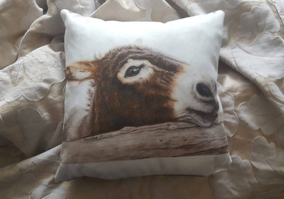 ONE OF A KIND DONKEY CUSHION - The Biscuit Marketplace