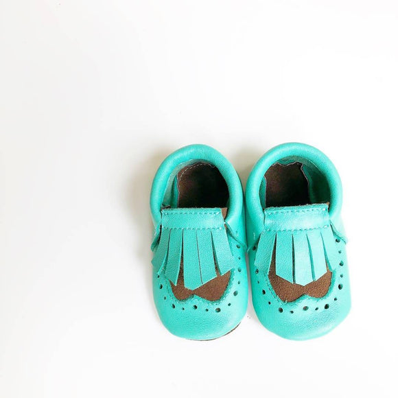 Baby moccasins brogue style - The Biscuit Marketplace