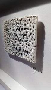 'Little Stars' - Words in Porcelain - The Biscuit Marketplace