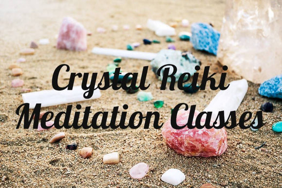 Crystal Reiki Meditation Groups - The Biscuit Marketplace