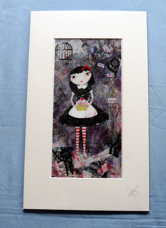 Miss Polly Dolly Print - The Biscuit Marketplace
