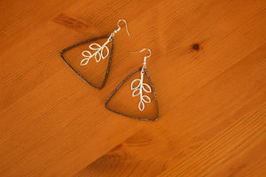 Triangle Collection - Paper Quilled Earrings - The Biscuit Marketplace
