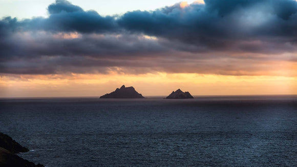 The mighty Skellig Islands