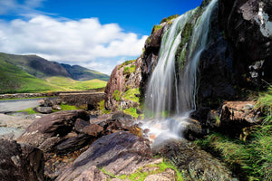 Conor Pass waterfall - The Biscuit Marketplace