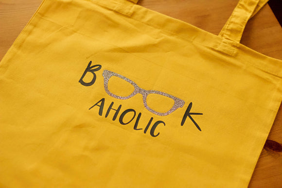 Bookaholic Tote bag - The Biscuit Marketplace