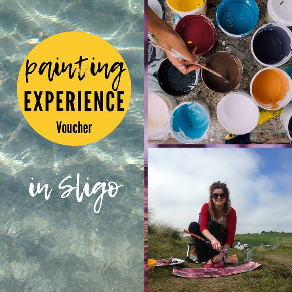 Painting Experience Voucher - The Biscuit Marketplace