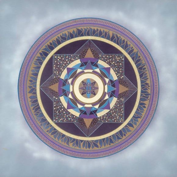 The Infinite Garden Mandala Limited Edition Print
