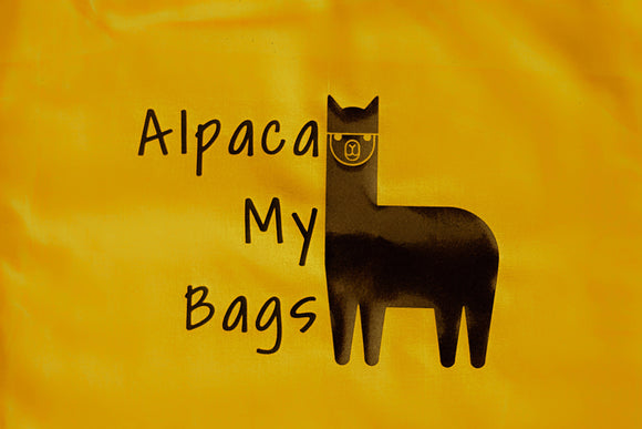 Alpaca My Bags Tote Bag - The Biscuit Marketplace