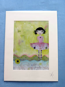 Polly Buttons Print
