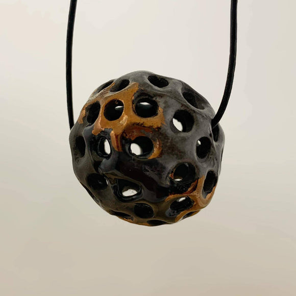 Handmade porcelain pendant - The Biscuit Marketplace