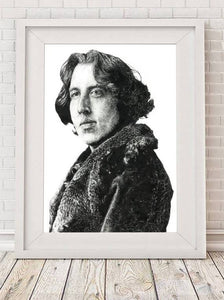 Oscar Wilde - Illustration Print - The Biscuit Marketplace