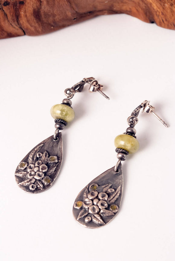 Botanic Garden Earrings - The Biscuit Marketplace