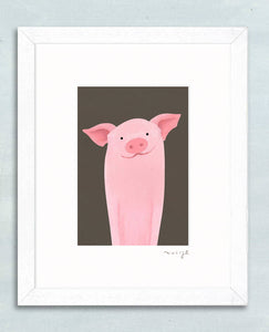 'Mucky Muc' signed giclée print - The Biscuit Marketplace
