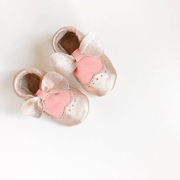 Baby girl brogue shoes