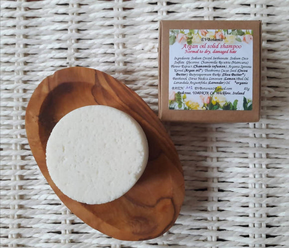 Argan oil solid shampoo - The Biscuit Marketplace