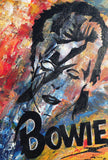 Bowie - original painting - The Biscuit Marketplace