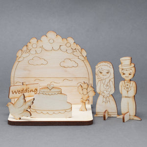 Flutter Wedding Arch - The Biscuit Marketplace