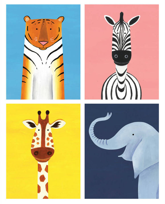 'Zoo Crew' signed giclée print