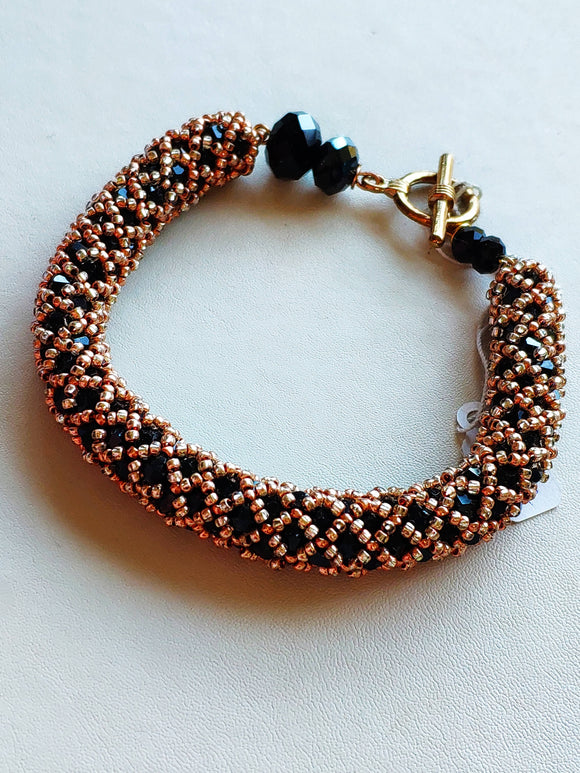 Beaded crystal bracelet - The Biscuit Marketplace