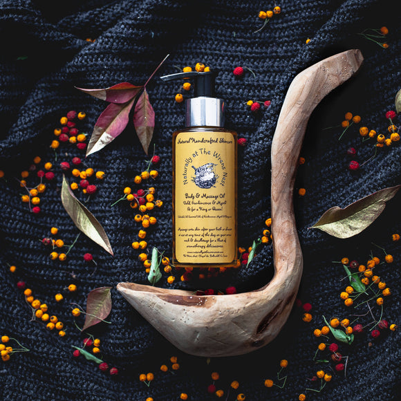 Gold, Frankincense & Myrrh Body & Massage Oil - The Biscuit Marketplace