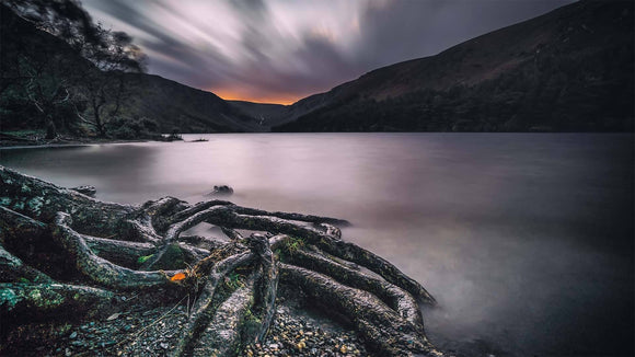 The lake at glendalough