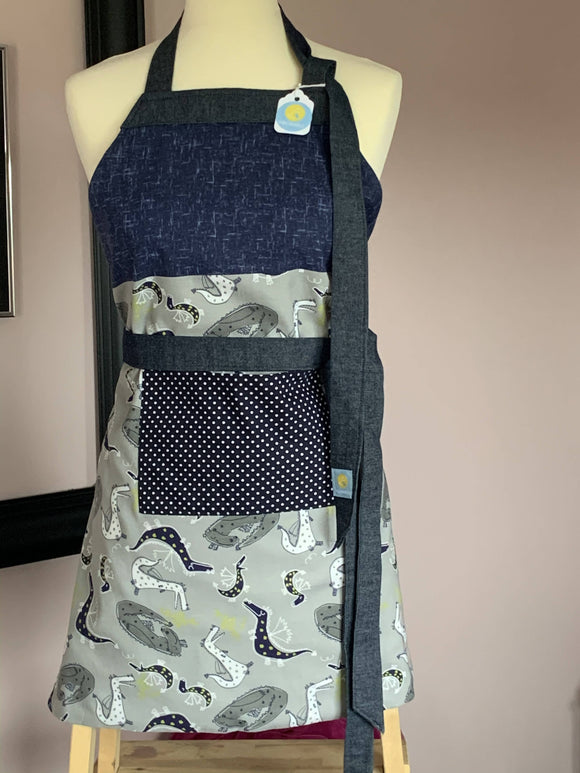 Dragons of wonder child's apron - The Biscuit Marketplace