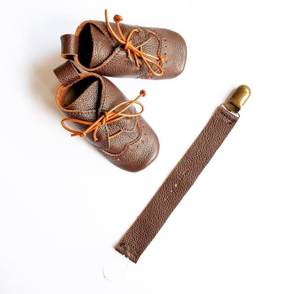 Baby oxford lace up shoes - The Biscuit Marketplace