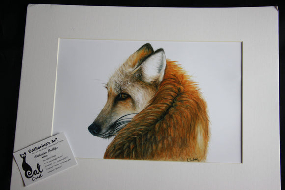 Fox Print - The Biscuit Marketplace
