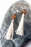Amber Tassel Earrings IV - The Biscuit Marketplace