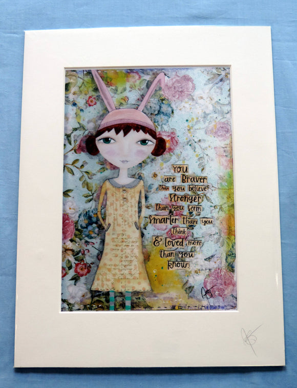 Polly Rabbit Print