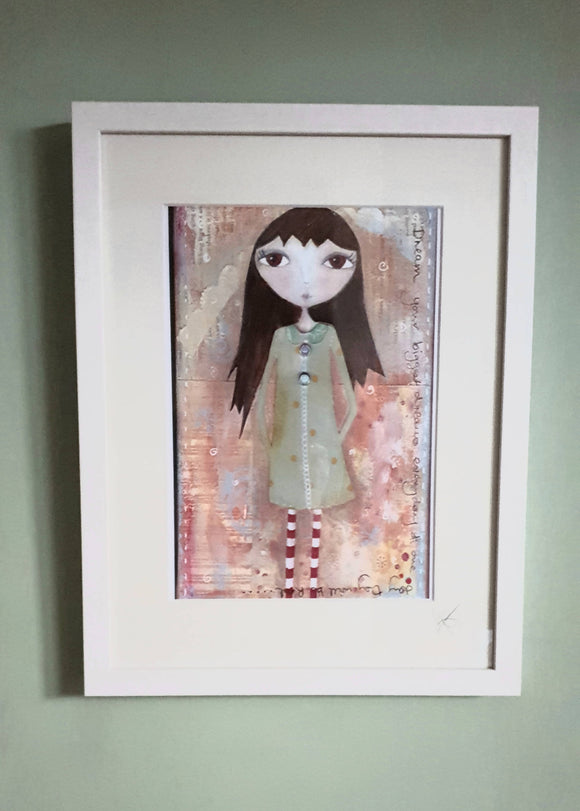Mabel Framed Print - The Biscuit Marketplace
