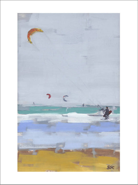KITE TIME (Limited Edition Print) CURRENTLY 20% OFF! - The Biscuit Marketplace